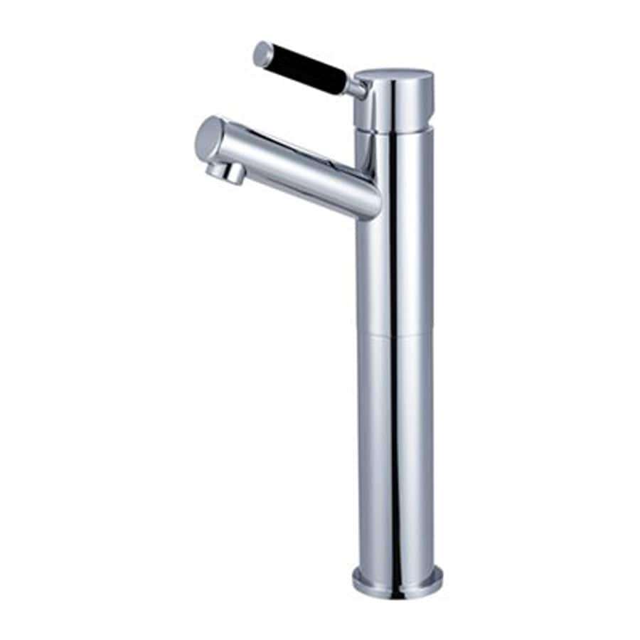 Elements of Design Kaiser Polished Chrome 1-Handle Single Hole Bathroom Faucet