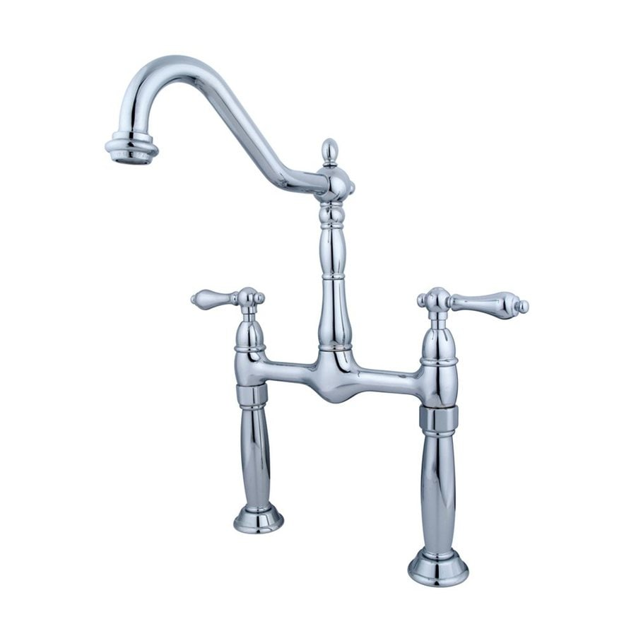 Elements of Design Victorian Chrome 2-handle Widespread Bathroom Sink Faucet
