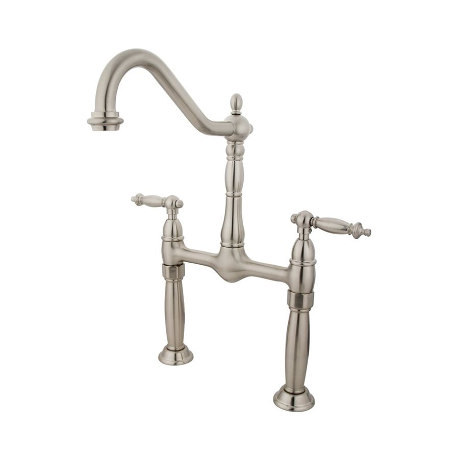 Elements of Design Satin Nickel 2-Handle Widespread Bathroom Faucet