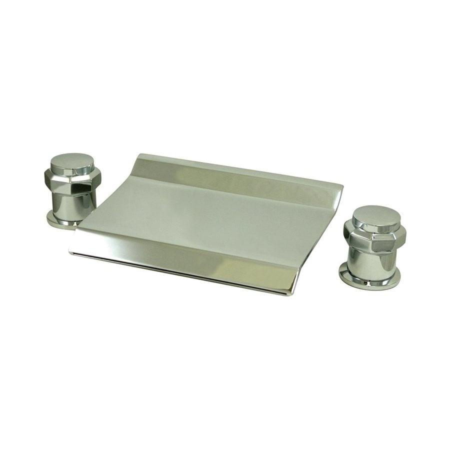 Elements of Design Chrome 2-Handle Adjustable Freestanding Bathtub Faucet