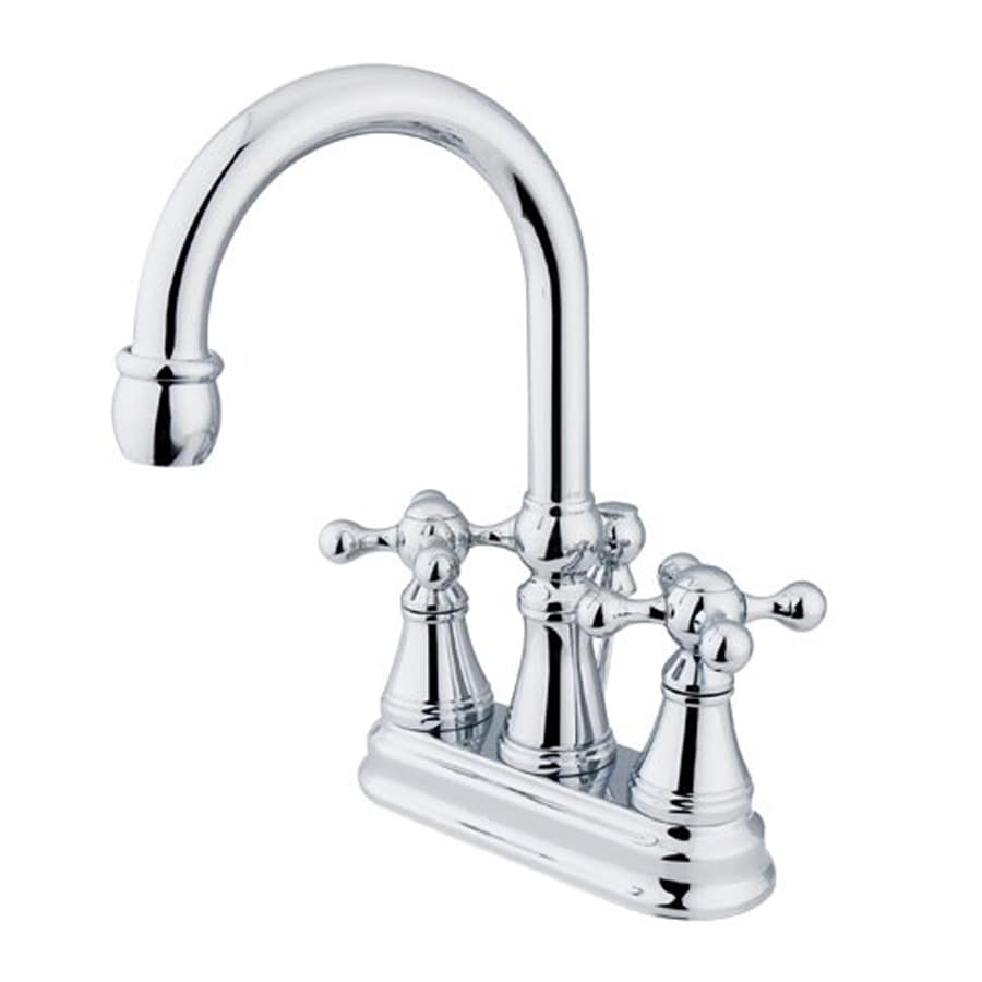 ... Design Chrome 2-Handle 4-in Centerset Bathroom Faucet (Drain Included