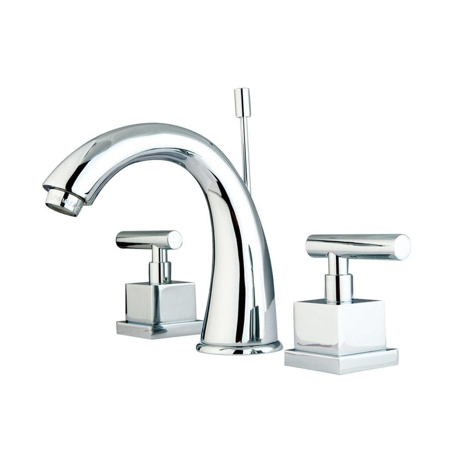 Elements of Design Claremont Chrome 2-handle Widespread Bathroom Sink Faucet