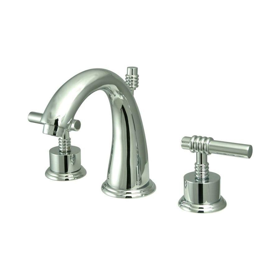 Elements of Design Chrome 2-handle Widespread Bathroom Sink Faucet