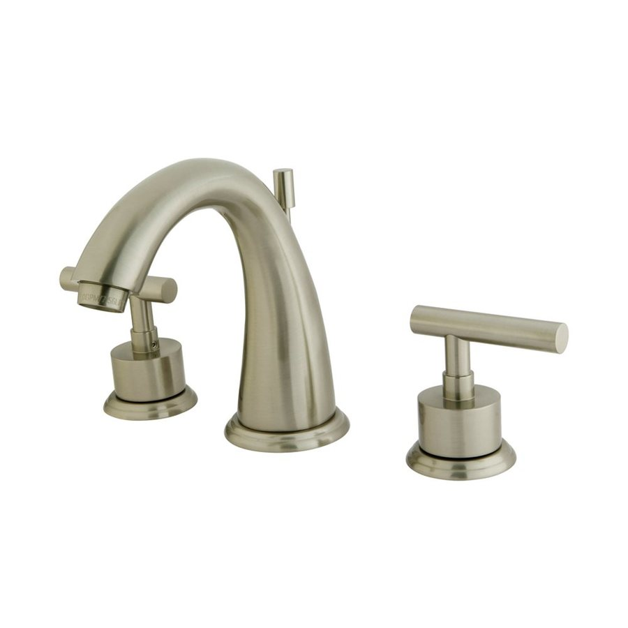 Elements of Design Manhattan Satin Nickel 2-handle Widespread Bathroom Sink Faucet
