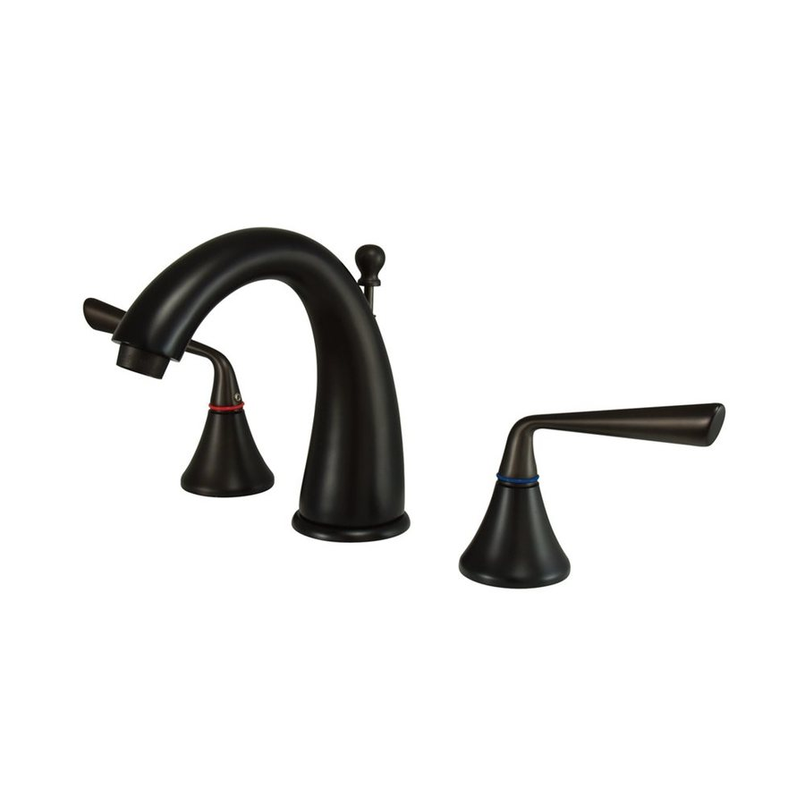 Elements of Design Silver Sage Oil-Rubbed Bronze 2-handle Widespread Bathroom Sink Faucet