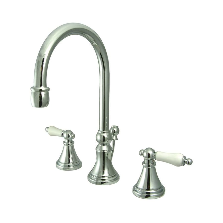 Elements of Design Chrome 2-handle Widespread Bathroom Sink Faucet
