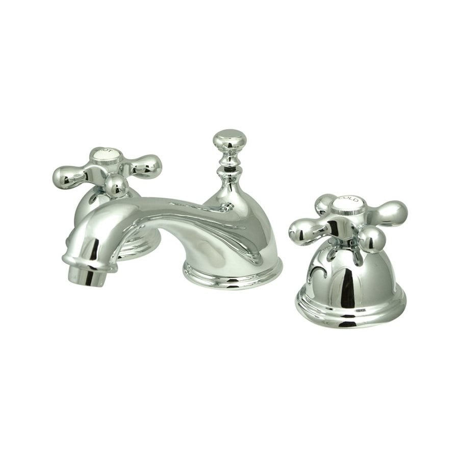 Elements of Design Chicago Chrome 2-handle Widespread Bathroom Sink Faucet