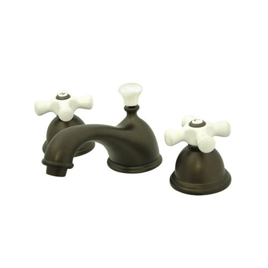 Elements of Design Chicago Oil-Rubbed Bronze 2-Handle Widespread Bathroom Faucet
