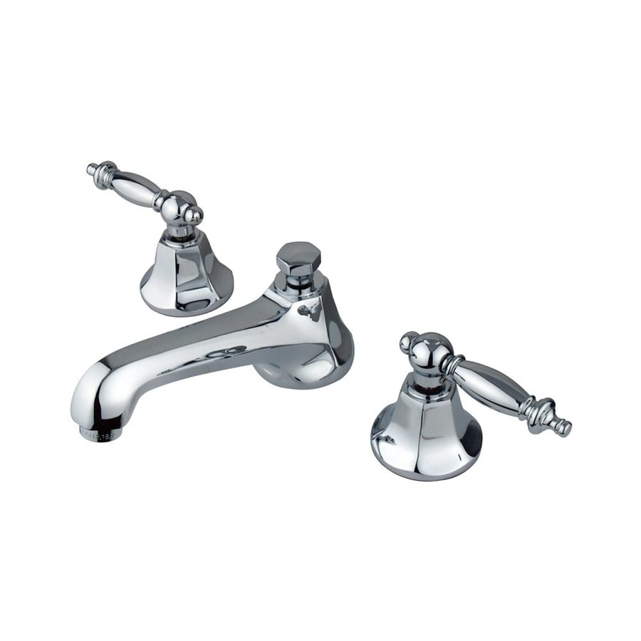 Elements of Design New York Chrome 2-Handle Widespread Bathroom Faucet