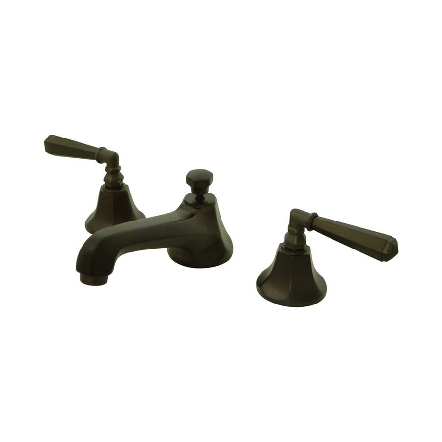 Elements of Design New York Oil-Rubbed Bronze 2-Handle Widespread Bathroom Faucet
