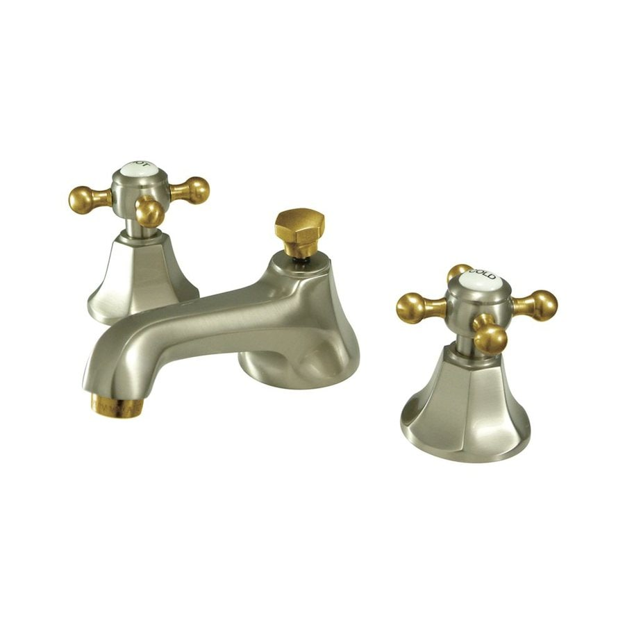Elements of Design New York Satin Nickel 2-Handle Widespread Bathroom Faucet