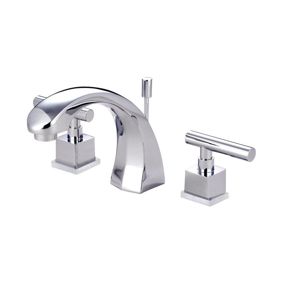 Elements of Design Claremont Chrome 2-handle Widespread Bathroom Sink Faucet