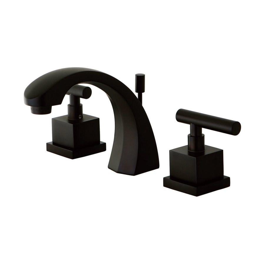 Shop Elements Of Design Claremont Oil Rubbed Bronze 2 Handle Widespread Bathroom Faucet Drain