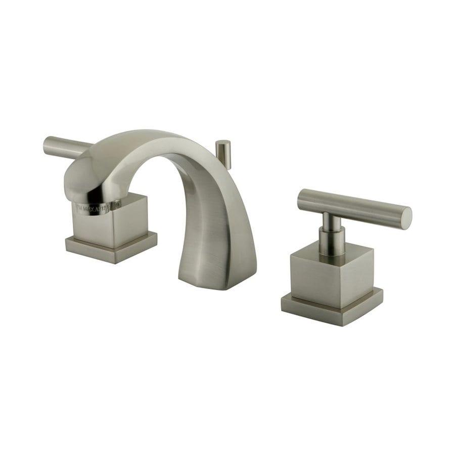 Elements of Design Claremont Satin Nickel 2-handle Widespread Bathroom Sink Faucet