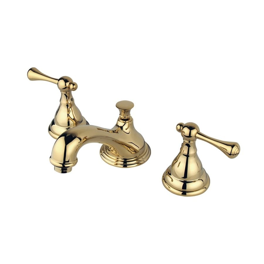 Elements of Design Royale Polished Brass 2-handle Widespread Bathroom Sink Faucet