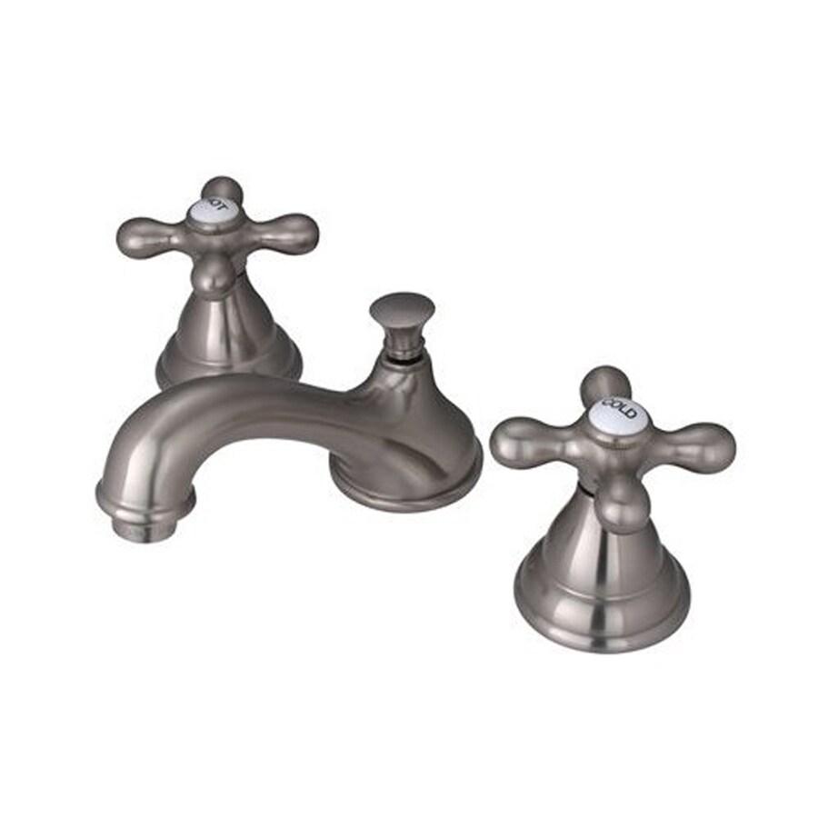 Elements of Design Royale Satin Nickel 2-handle Widespread Bathroom Sink Faucet