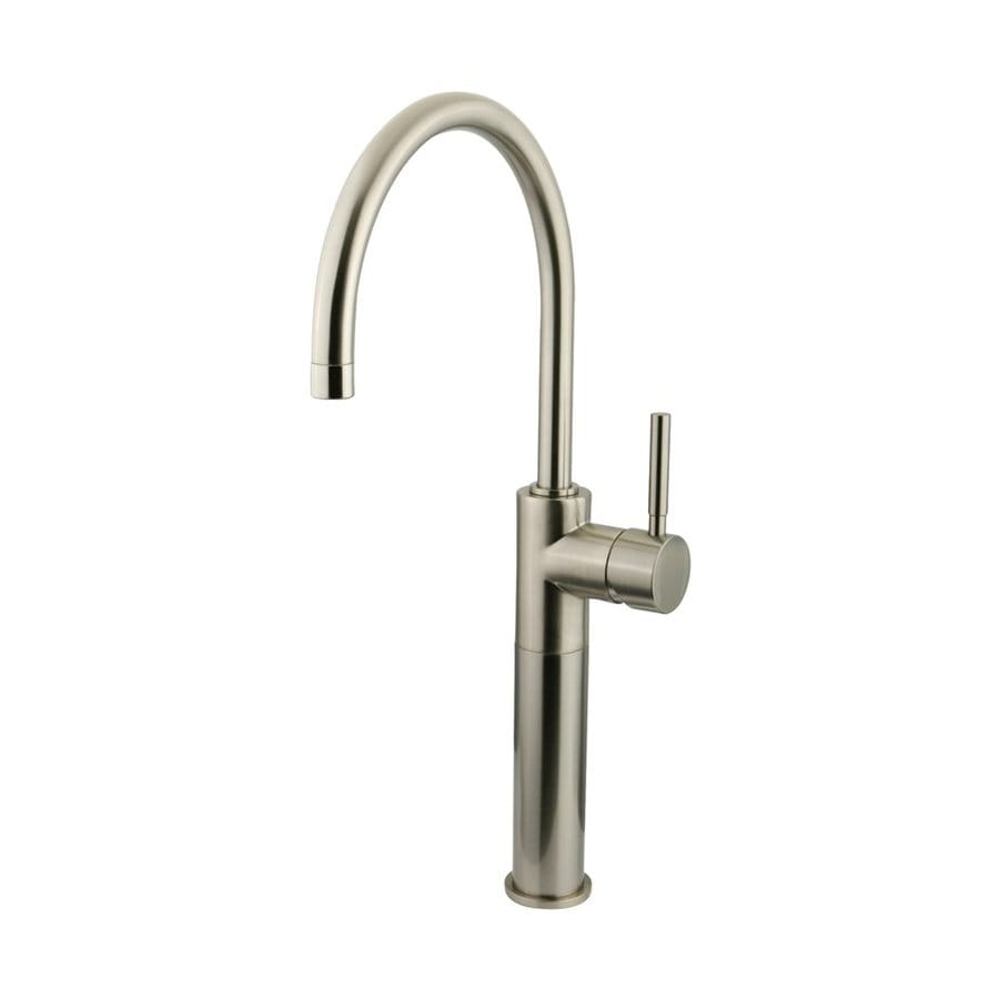 Elements of Design Concord Satin Nickel 1-handle Single Hole Bathroom Sink Faucet