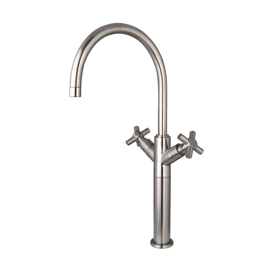 Elements of Design Concord Satin Nickel 2-Handle Single Hole Bathroom Faucet