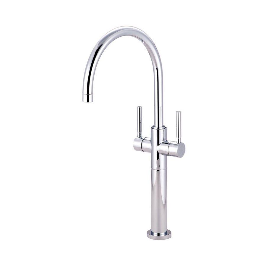 Elements of Design Concord Chrome 2-Handle Single Hole Bathroom Faucet