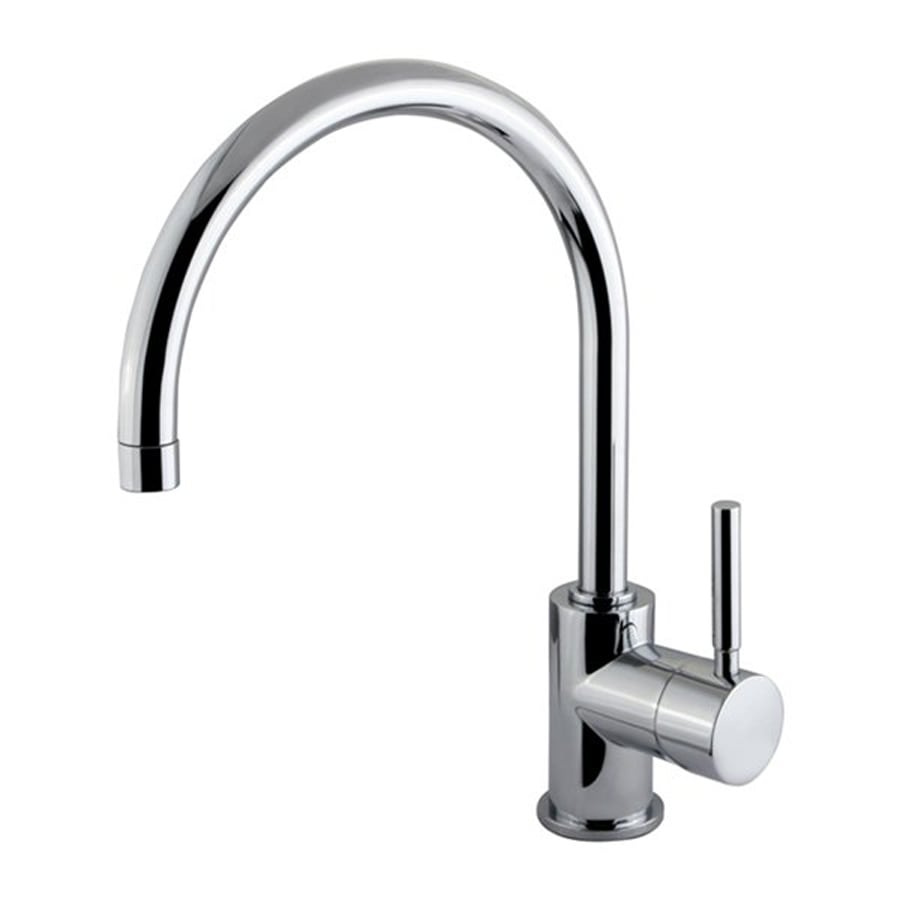 Shop elements of design concord chrome 1 handle single hole bathroom faucet at for Elements of design bathroom faucets