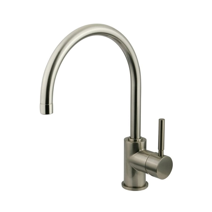 Elements of Design Concord Satin Nickel 1-Handle Single Hole Bathroom Faucet