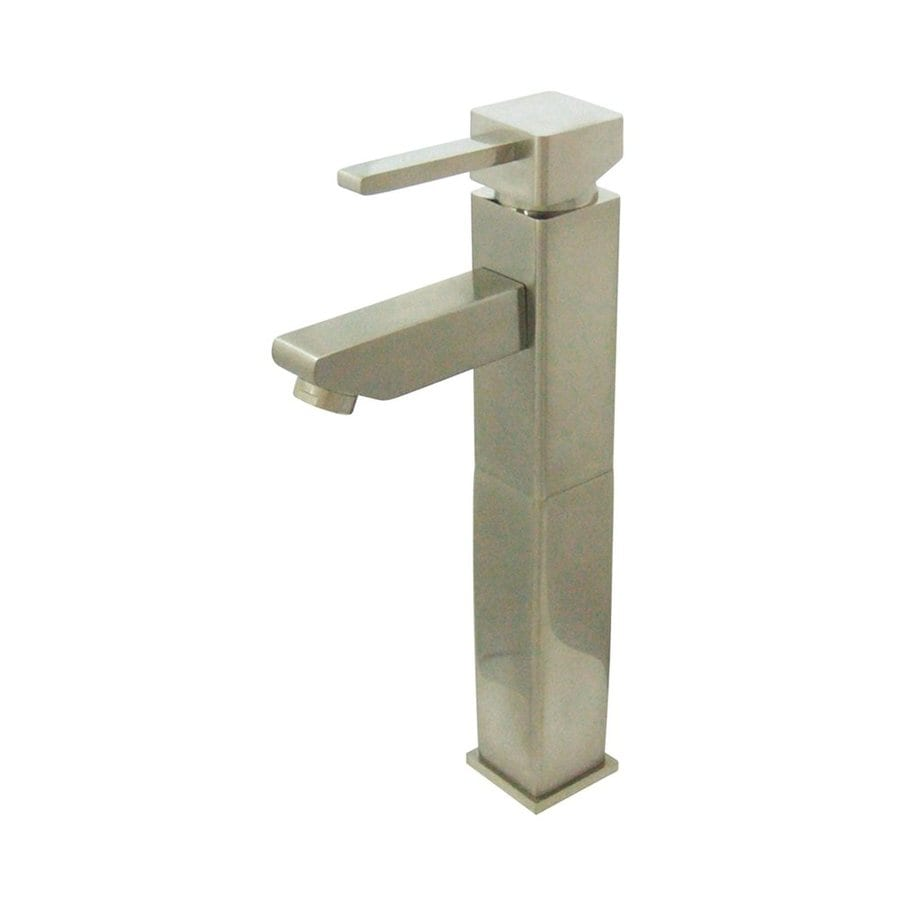 Elements of Design Claremont Satin Nickel 1-Handle Single Hole Bathroom Faucet