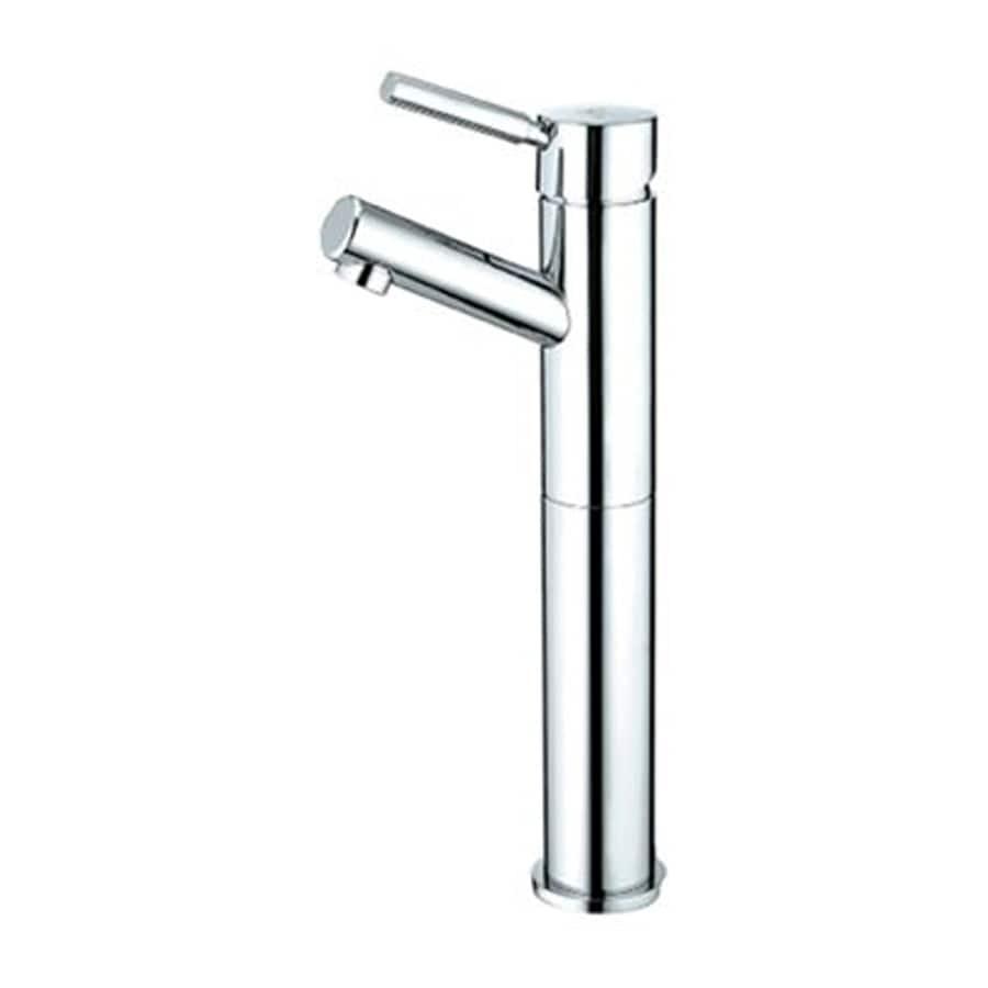 Elements of Design Concord Chrome 1-Handle Single Hole Bathroom Faucet