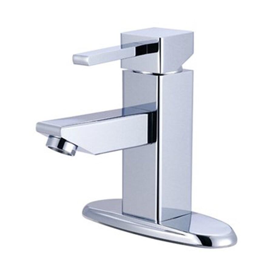 Elements of Design Claremont Chrome 1-Handle 4-in Centerset Bathroom Faucet