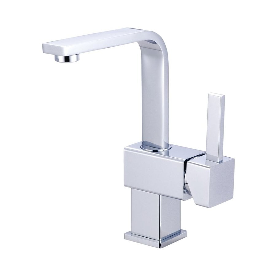 Shop Elements Of Design Claremont Chrome 1 Handle 4 In Centerset Bathroom Sink Faucet At