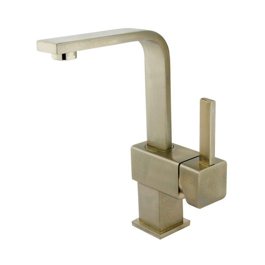 Elements of Design Claremont Satin Nickel 1-Handle 4-in Centerset Bathroom Faucet