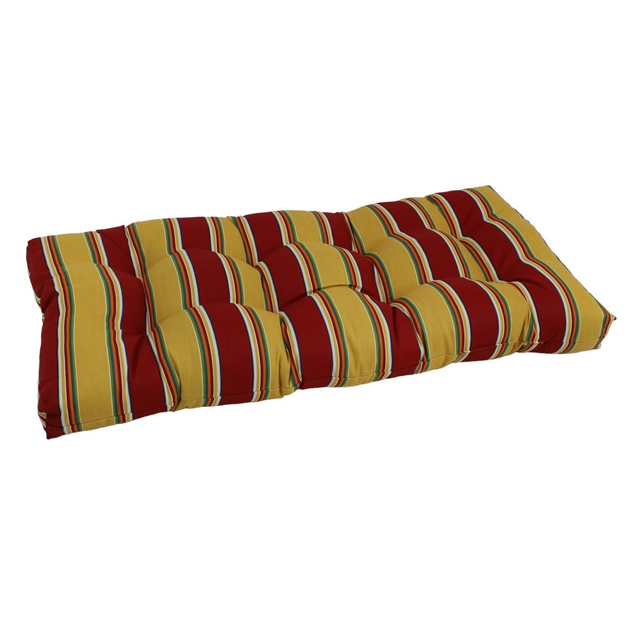 Shop blazing needles 1 piece haliwell multi patio loveseat cushion at Patio loveseat cushion
