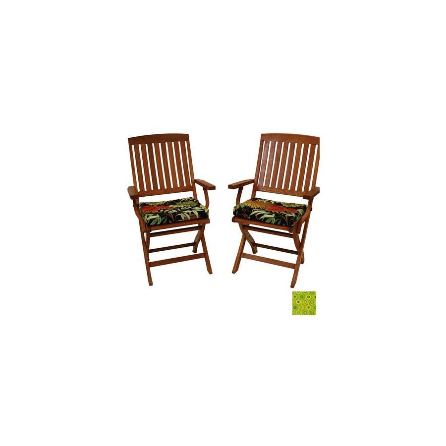 Blazing Needles Titus Terrace Apple Patio Chair Cushion