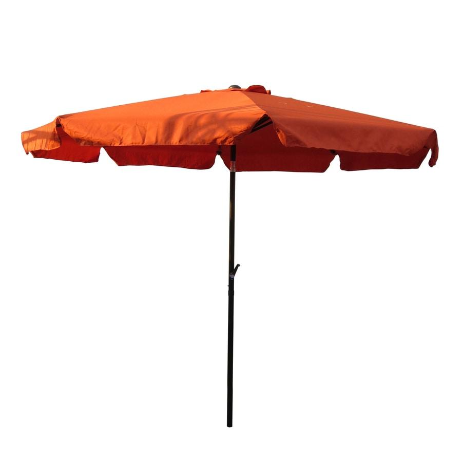International Caravan Terra cotta Market 10-ft Patio Umbrella