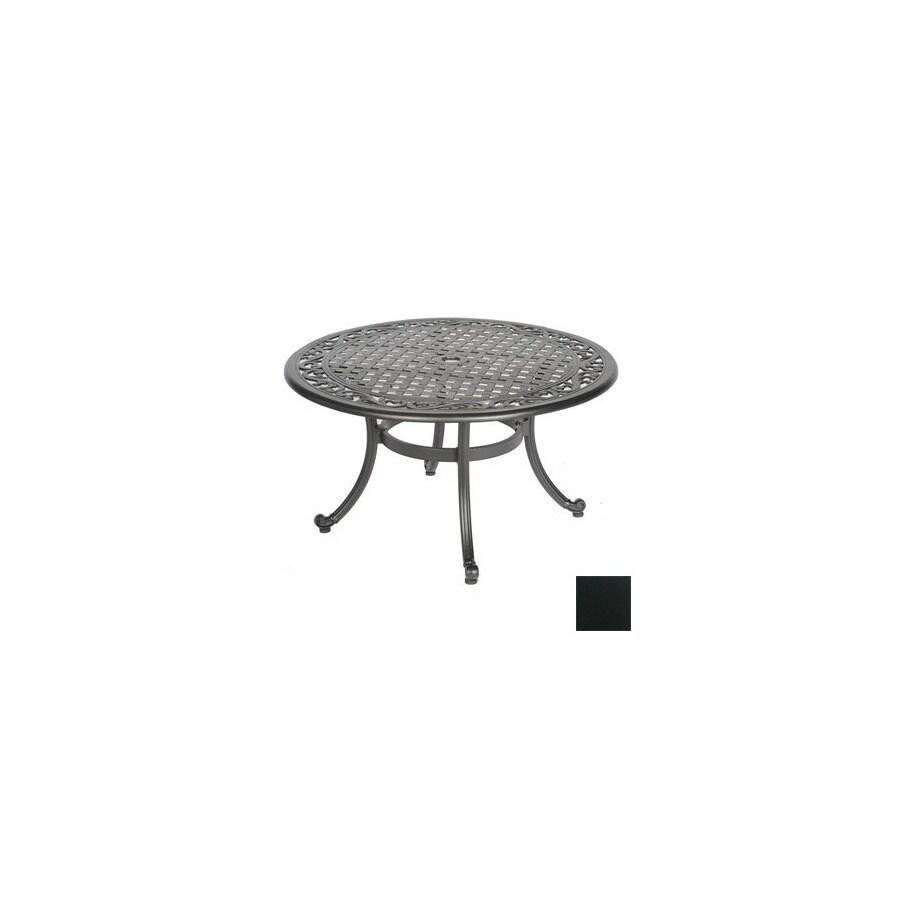 Meadow Decor Kingston Aluminum Round Patio Coffee Table