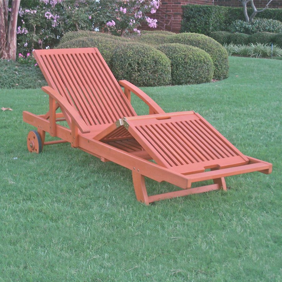 International Caravan Royal Tahiti Patio Chaise Lounge Chair