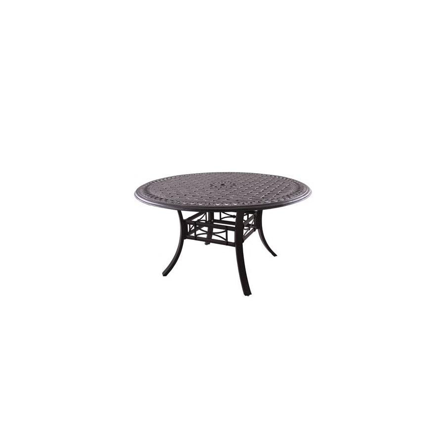 Shop Darlee Series In X In Cast Aluminum Round Patio Dining - 54 round patio table