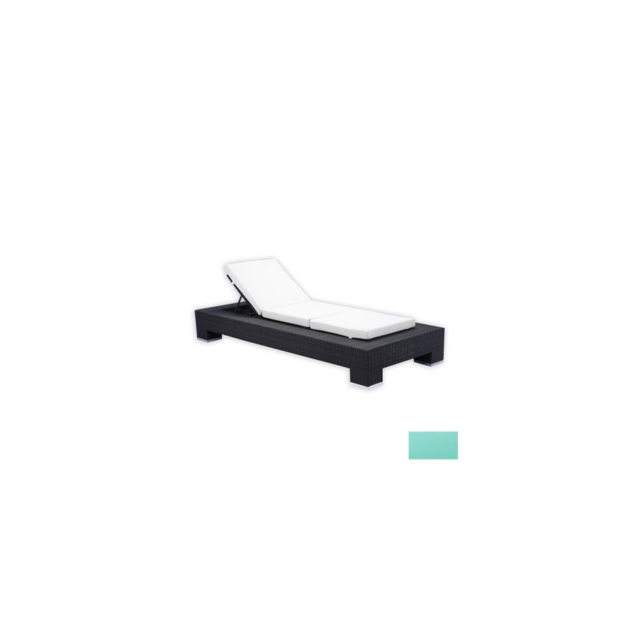 Source Outdoor Set of 2 King Aluminum Patio Chaise Lounges