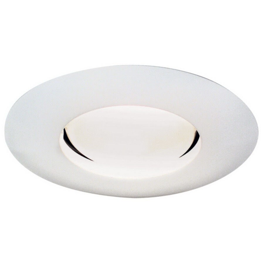 Thomas Lighting Matte White Open Recessed Light Trim (Fits Housing Diameter: 5-in)
