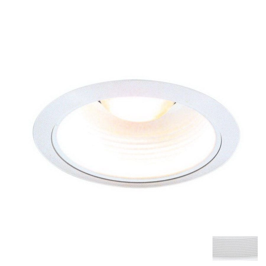 Thomas Lighting Matte White Baffle Recessed Light Trim (Fits Housing Diameter 5-in  sc 1 st  Loweu0027s & Shop Thomas Lighting Matte White Baffle Recessed Light Trim (Fits ... azcodes.com