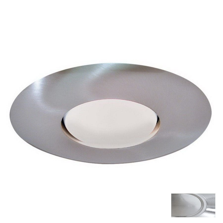 Shop Thomas Lighting Brushed Nickel Open Recessed Light Trim Fits Housing Di