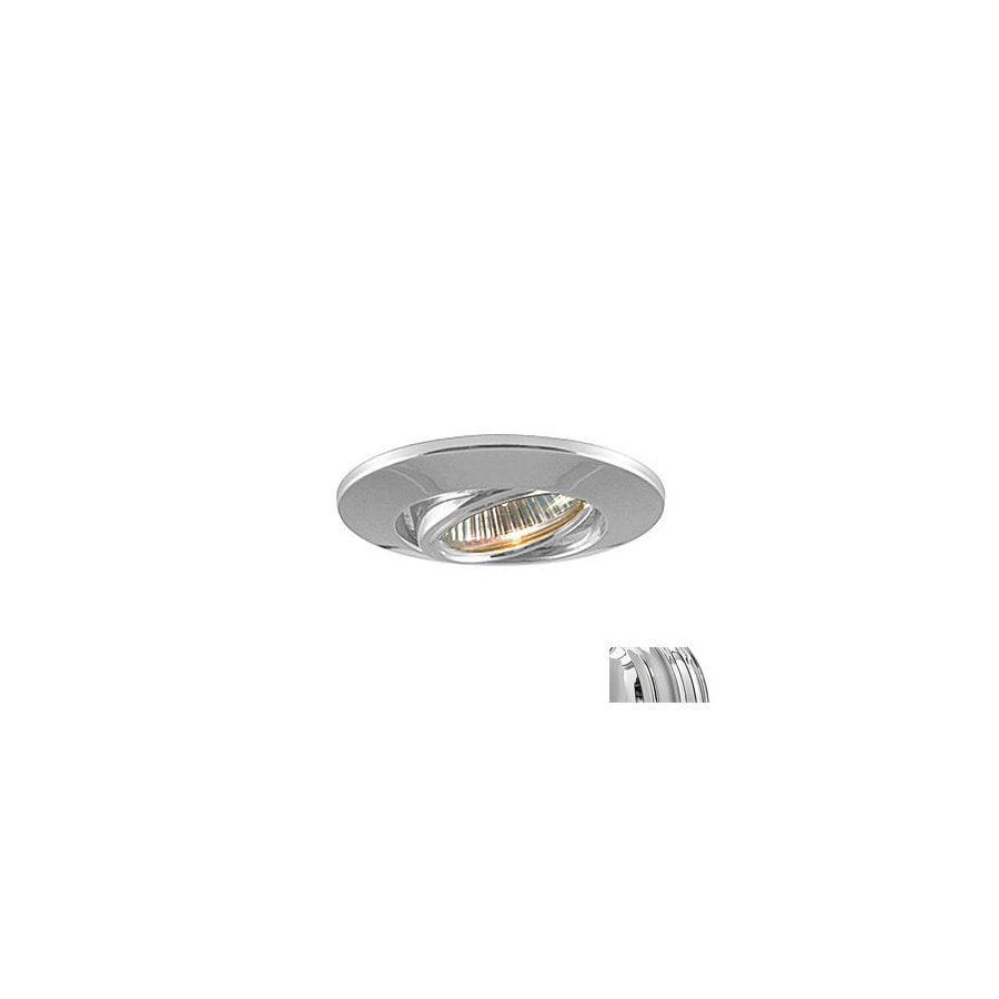 JESCO Chrome Gimbal Recessed Lighting Trim