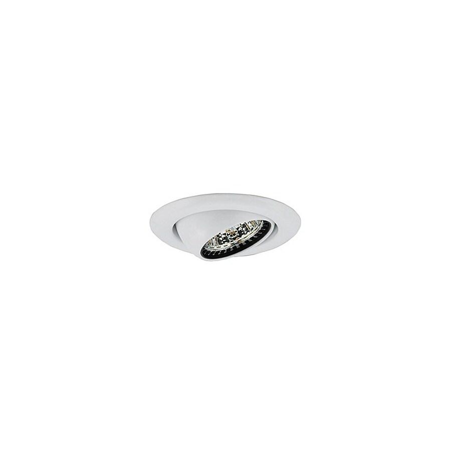 JESCO White Eyeball Recessed Light Trim (Fits Housing Diameter: 3-in)