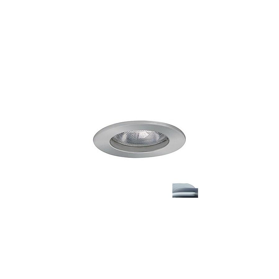 JESCO 5-in Satin Chrome Open Recessed Lighting Trim