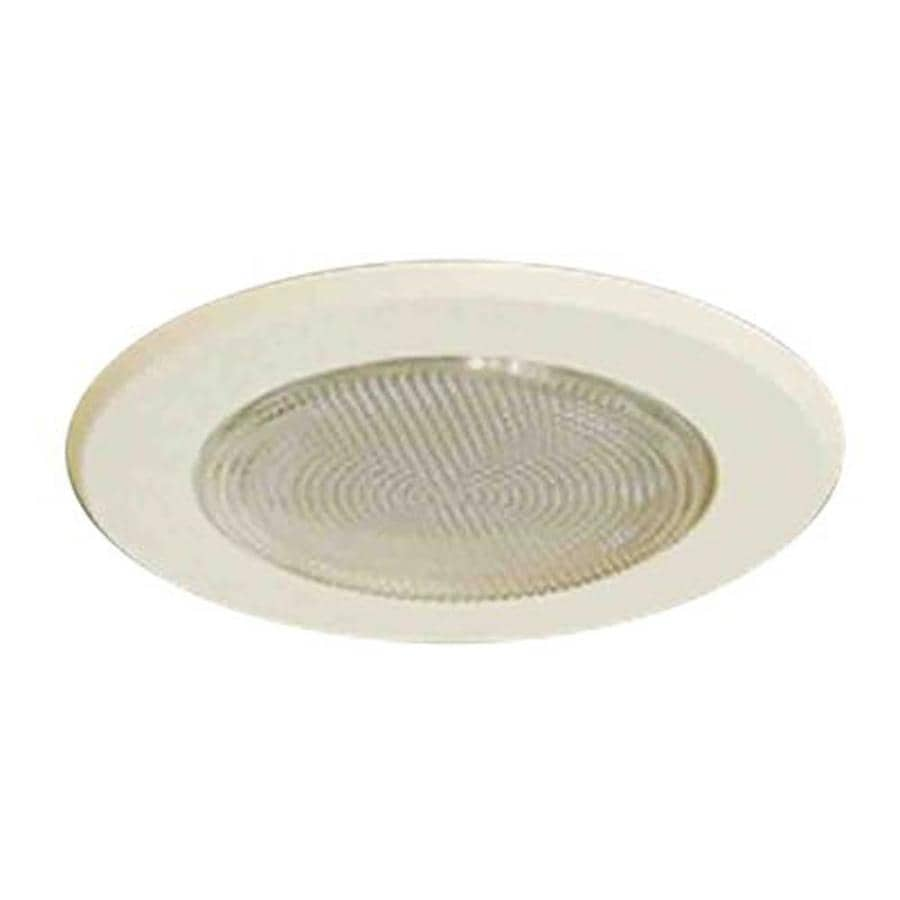 Volume International White Shower Recessed Light Trim (Fits Housing Diameter: 5-in)