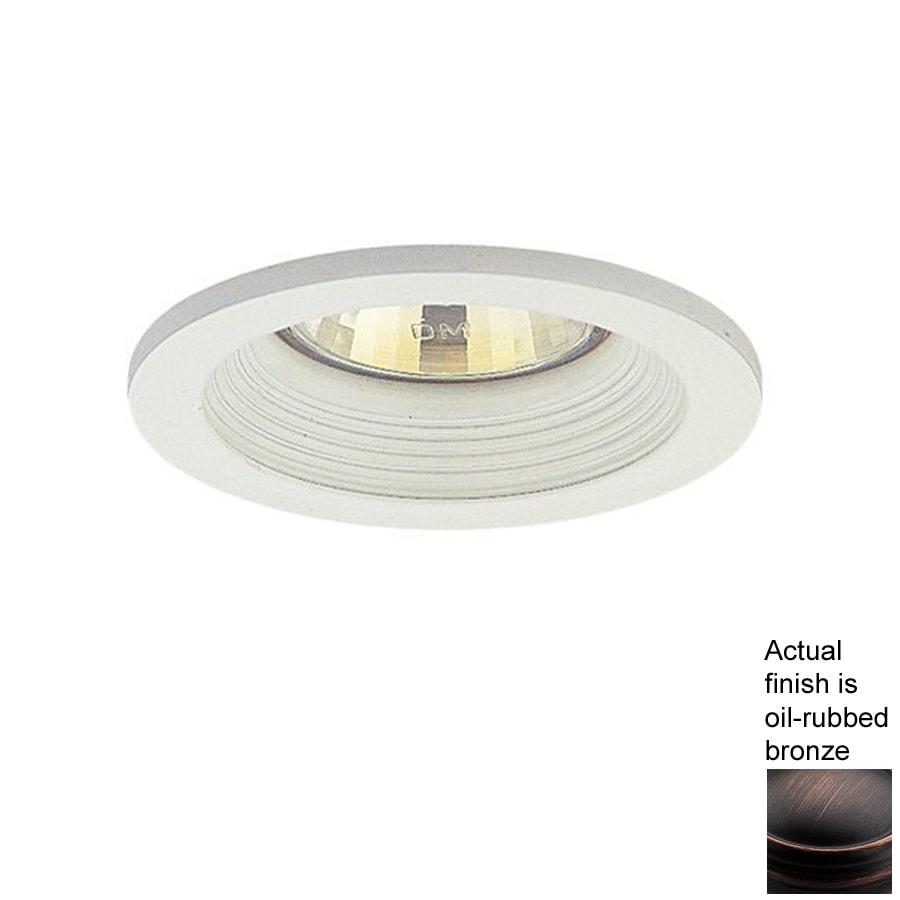 Nicor Lighting Oil-Rubbed Bronze Baffle Recessed Light Trim (Fits Housing Diameter 3  sc 1 st  Loweu0027s & Shop Nicor Lighting Oil-Rubbed Bronze Baffle Recessed Light Trim ... azcodes.com