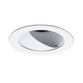 Shop wall wash recessed light trim at lowes nicor lighting white wall wash recessed light trim fits housing diameter 4 in aloadofball Image collections