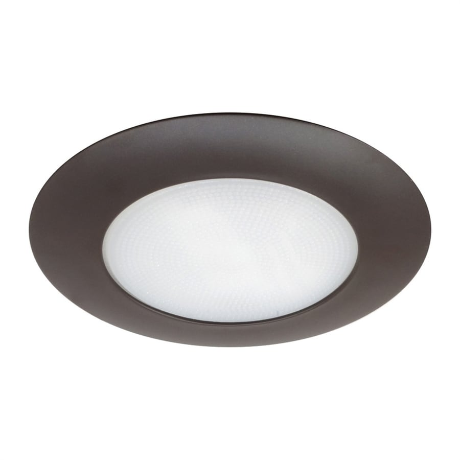 Nicor Lighting Oil-Rubbed Bronze Shower Recessed Light Trim (Fits Housing Diameter: 6-in)