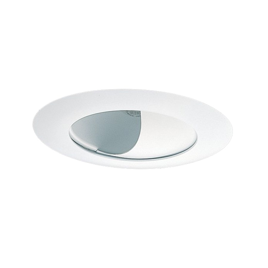 Wall Washing Recessed Lighting Distance : Shop Nicor Lighting White Wall Wash Recessed Light Trim (Fits Housing Diameter: 6-in) at Lowes.com