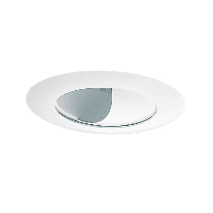 Shop Nicor Lighting White Wall Wash Recessed Light Trim (Fits Housing Diameter: 6-in) at Lowes.com
