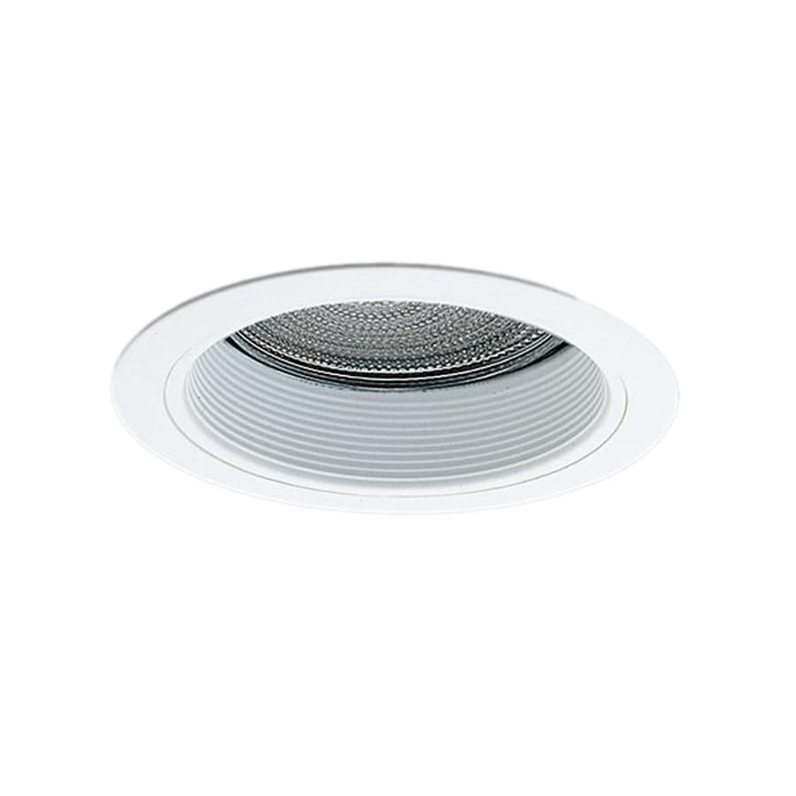 Nicor Lighting White Baffle Recessed Light Trim (Fits Housing Diameter: 6-in)